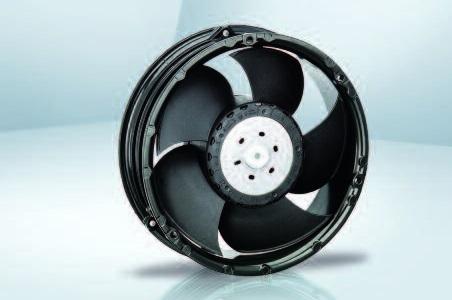 Вентилятор осевой DC,   6318/2 HP