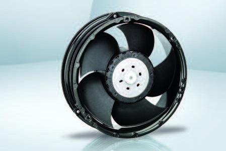 Вентилятор осевой DC,   6318/2 TDHP