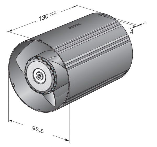 Вентилятор ACmaxx / EC, AC 100 MR