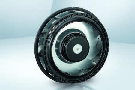 Вентилятор центробежный DC, RER 125-19/12 N