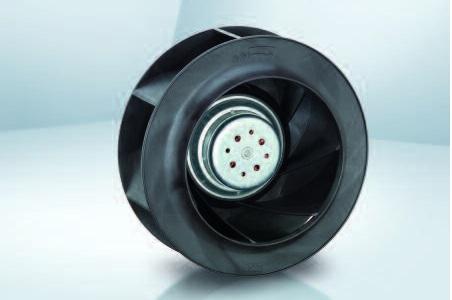 Вентилятор центробежный DC, RER 225-63/18/2 TDMLO