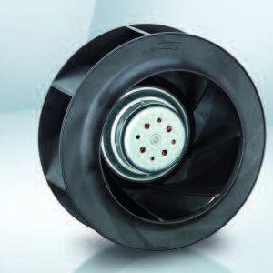 Вентилятор центробежный DC, RER 225-63/18/2 TDO